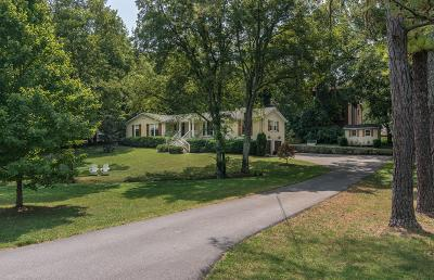 Nashville Single Family Home Under Contract - Showing: 1141 Granny White Ct