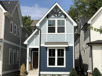 Nashville Single Family Home Under Contract - Showing: 1510 B Arthur Ave