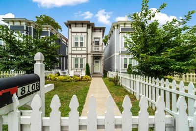 Nashville Single Family Home For Sale: 1810 B 7th Ave N