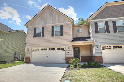 Murfreesboro, Rockvale Condo/Townhouse For Sale: 4403 Sunday Silence Way