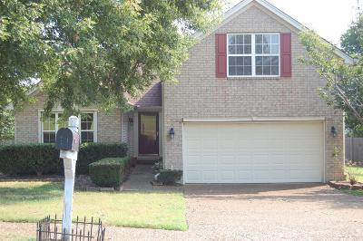 Spring Hill Single Family Home For Sale: 2332 Leighton Way