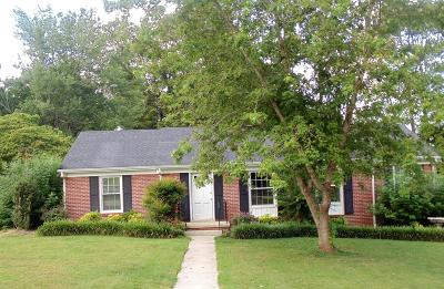 Shelbyville Single Family Home For Sale: 216 Orchard Dr