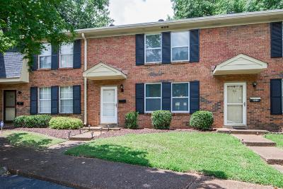 Davidson County Condo/Townhouse Under Contract - Not Showing: 5515 Country Dr. #24