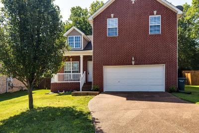 Mount Juliet Single Family Home Under Contract - Showing: 1508 Saddle Vw