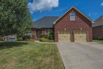 Murfreesboro Single Family Home Under Contract - Not Showing: 3029 Brookside Path