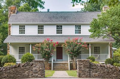 Franklin Single Family Home Under Contract - Showing: 1143 Dora Whitley Rd
