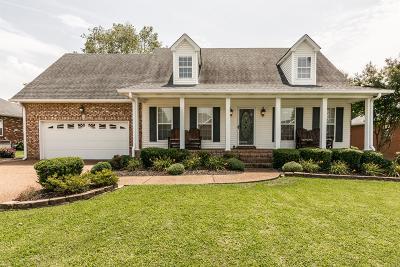Gallatin Single Family Home For Sale: 1089 Pinehurst Dr