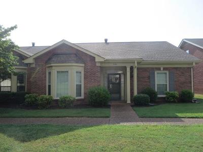 Nashville Condo/Townhouse For Sale: 9140 Sawyer Brown Rd #9140