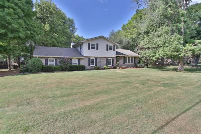 Brentwood  Single Family Home Under Contract - Not Showing: 8122 Suzanne Dr