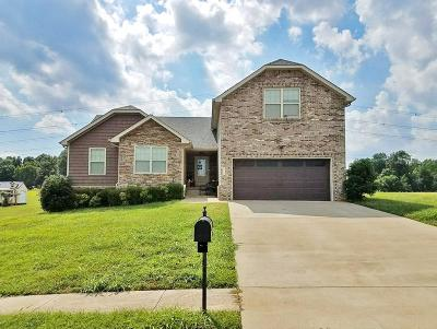 Clarksville Single Family Home For Sale: 321 Ivy Bend Cr