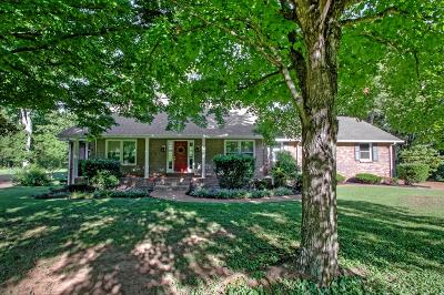 Old Hickory Single Family Home Under Contract - Showing: 28 Scenic Ridge Ct