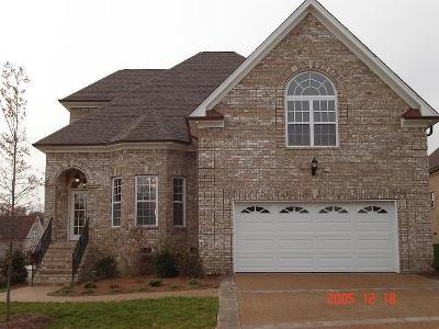 Gallatin Single Family Home Under Contract - Not Showing: 1027 Isaac Franklin Dr