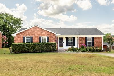 Cheatham County Single Family Home Under Contract - Showing: 106 Ashton Ln
