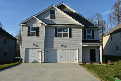 Christian County, Ky, Todd County, Ky, Montgomery County Single Family Home Under Contract - Not Showing: 346 West Creek Farms