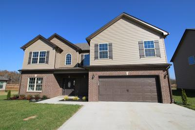 Clarksville Single Family Home For Sale: 291 The Groves At Hearthstone