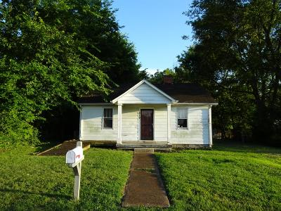 Nashville Single Family Home Under Contract - Showing: 219 Valeria St