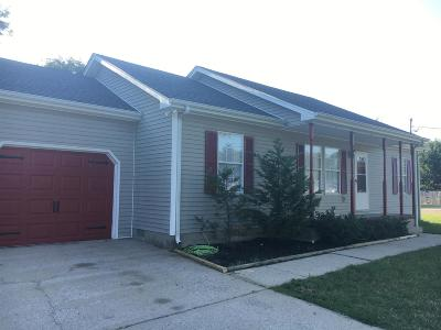 Lavergne Single Family Home Under Contract - Not Showing: 120 Bill Stewart Blvd