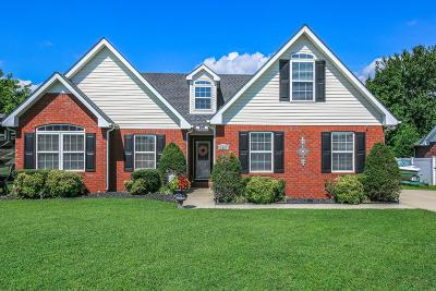 Murfreesboro Single Family Home Under Contract - Not Showing: 3437 Cross Meadow Dr