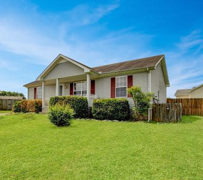 Clarksville Single Family Home Under Contract - Showing: 244 Amber Ct