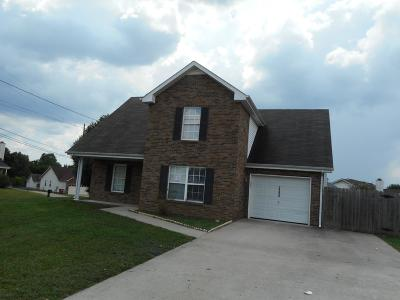 Clarksville Single Family Home Under Contract - Showing: 3390 Summerfield Dr.