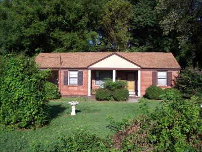 Nashville TN Single Family Home For Sale: $169,000
