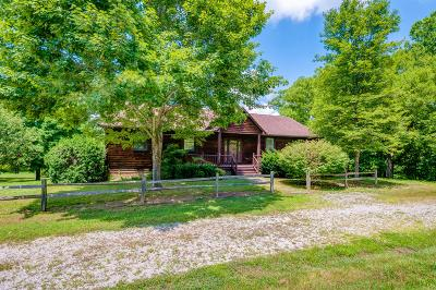 Hohenwald Single Family Home Under Contract - Showing: 1090 Little Swan Creek Rd