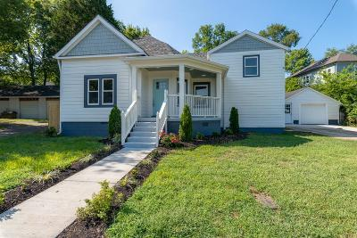 Nashville Single Family Home For Sale: 3707 Elkins Ave