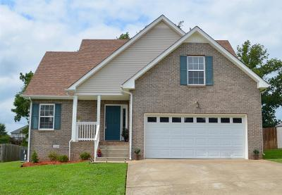 Clarksville Single Family Home For Sale: 3508 Clover Hill Dr