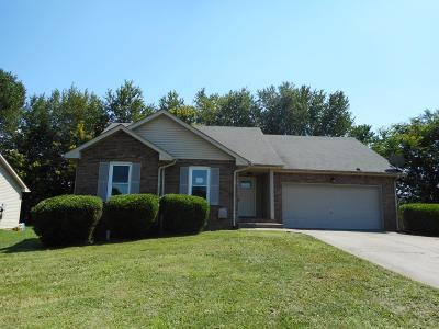 Christian County, Ky, Todd County, Ky, Montgomery County Single Family Home Under Contract - Showing: 3218 S Senseney Cir