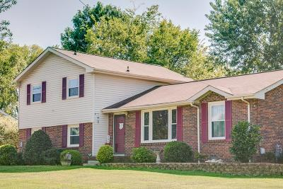 Hendersonville Single Family Home Under Contract - Showing: 304 Donna Dr