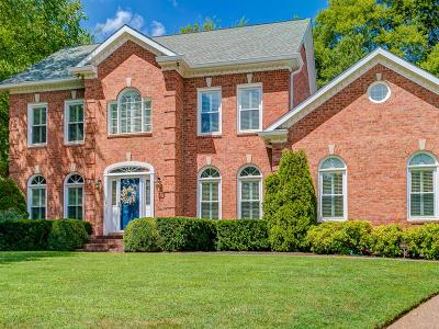 Brentwood, Franklin Single Family Home Under Contract - Showing: 819 Appomattox Pl