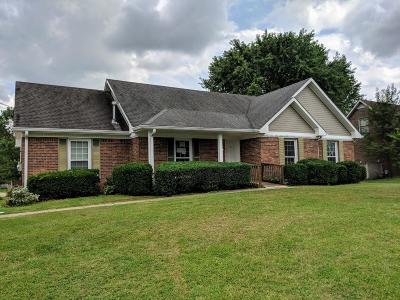 Clarksville Single Family Home Under Contract - Showing: 1966 Stepford Dr