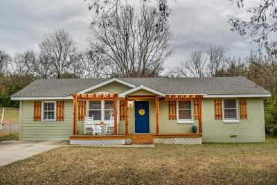 Hendersonville Single Family Home Under Contract - Showing: 120 S Valley Rd