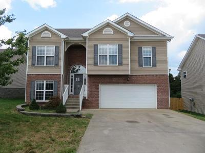Christian County, Ky, Todd County, Ky, Montgomery County Single Family Home For Sale: 3535 Oak Creek Dr