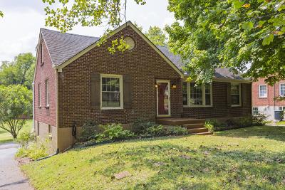 Davidson County Single Family Home For Sale: 3911 Ivy Dr