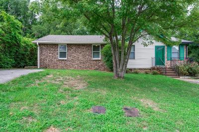 Davidson County Single Family Home For Sale: 473 Cathy Jo Cir
