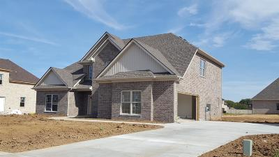 Murfreesboro Single Family Home Under Contract - Not Showing: 2915 Firerock Dr.- #104