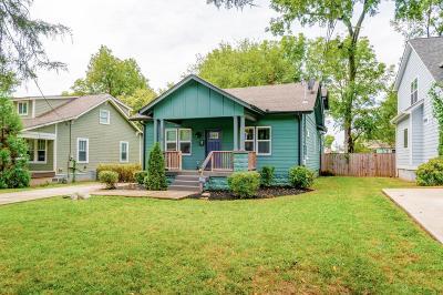 Nashville Single Family Home For Sale: 1118 Stockell St