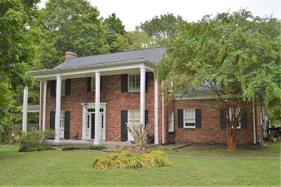 Nashville Single Family Home For Sale: 520 Hill Rd