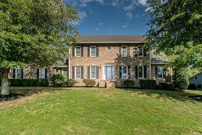 Mount Juliet Single Family Home Under Contract - Showing: 1591 Country Haven Trl