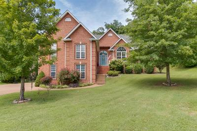Mount Juliet Single Family Home Under Contract - Showing: 1744 Wrencrest Dr.