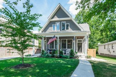 Nashville Single Family Home For Sale: 1023 B Petway Ave