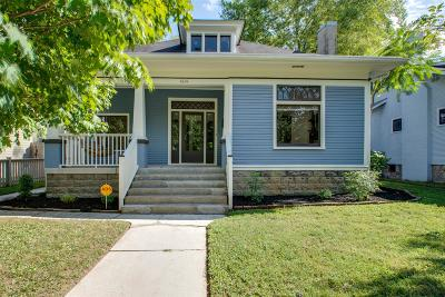 Nashville Single Family Home Under Contract - Showing: 1614 Forrest Ave
