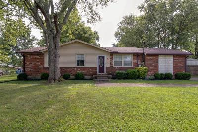 Robertson County Single Family Home For Sale: 2108 Lynwood Dr.