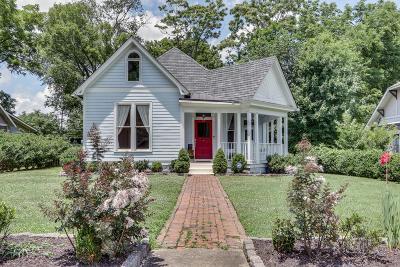 Nashville Single Family Home For Sale: 820 Benton Ave