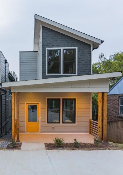 Nashville Single Family Home For Sale: 513 B Weakley Ave