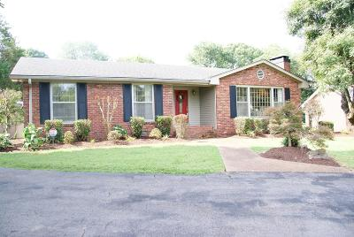 Wilson County Single Family Home Under Contract - Showing: 218 Spring Rd