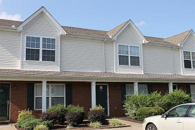 Murfreesboro Condo/Townhouse Under Contract - Not Showing: 356 Shoshone Pl