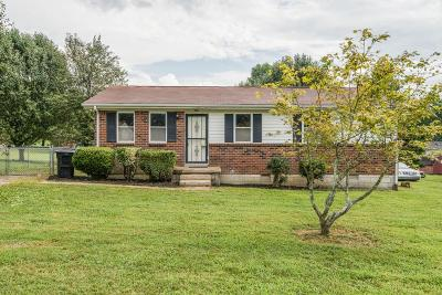 Franklin Single Family Home Under Contract - Not Showing: 105 Hardison Dr
