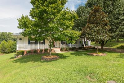 Clarksville Single Family Home Under Contract - Not Showing: 2007 W Creek Ct